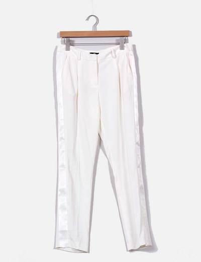 Pantalón crudo de vestir H&M