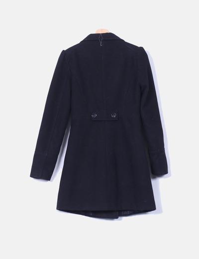 b9c8be9c775 Pimkie Abrigo de paño negro (descuento 91%) - Micolet