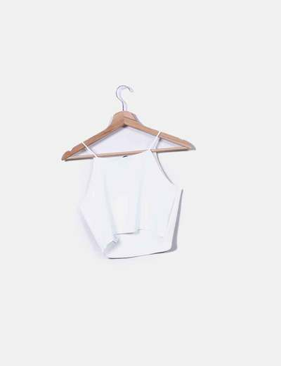 232beb91c2 Zara White shorts top with straps (discount 62%) - Micolet