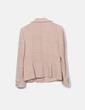 Traje tweed beige Zara