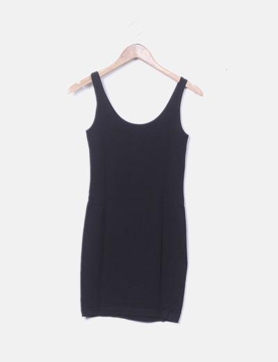 Mini vestido negro
