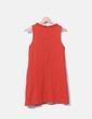 Vestido pichi texturizado naranja Zara