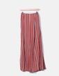 Conjunto pantalón y crop top volante caldera con rayas NoName