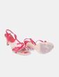 Sandalia roja de tiras MayFran