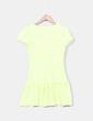 Vestido tricot amarillo flúor Easy Wear