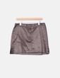 Mini-jupe à double texture sita murt/