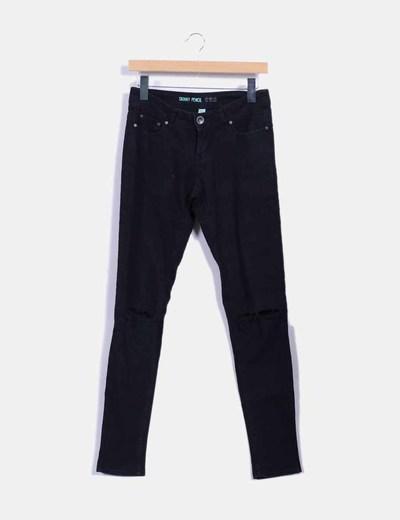Pantalón skinny negro Denim Co.
