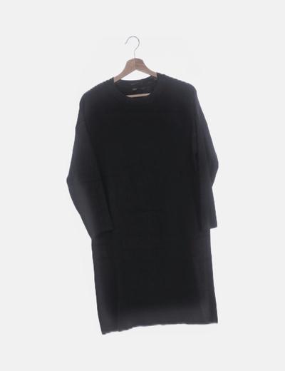 Jersey tricot con manga francesa