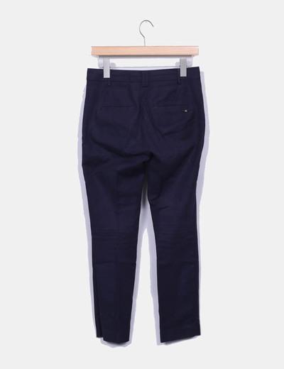 Pantalon chino azul marino