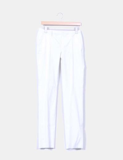 Pantalón blanco con raya diplomática Mexx