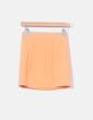 Mini falda elástica naranja H&M