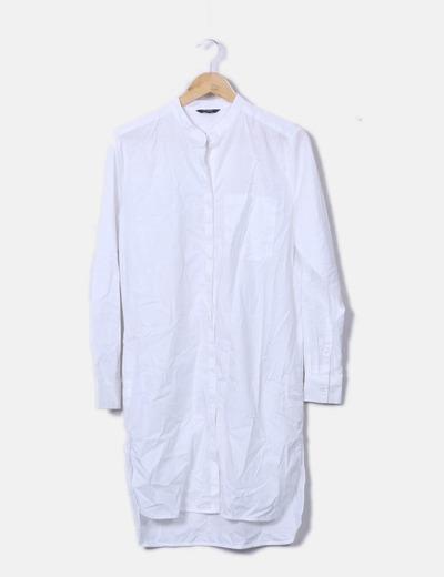 Vestido camisero blanco MbyM