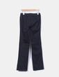 Pantalón de pinzas negro Alba Conde