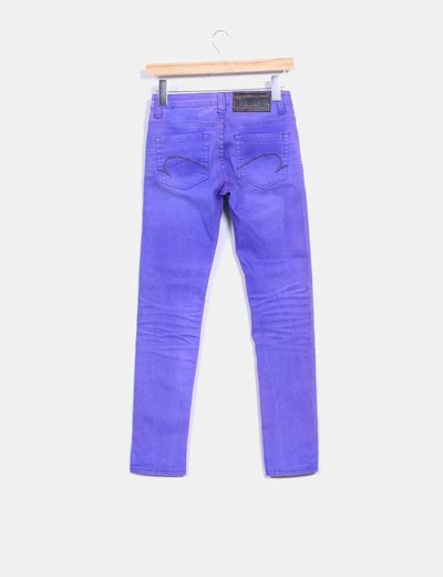 Pantalon morado washed