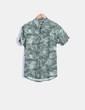 Camisa verde print tropical Carhartt