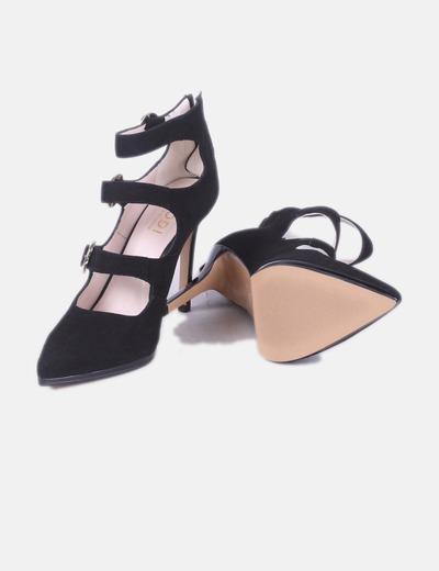 Negros Hebillas Negros Con Zapatos Hebillas Con Zapatos n0OX8wPk