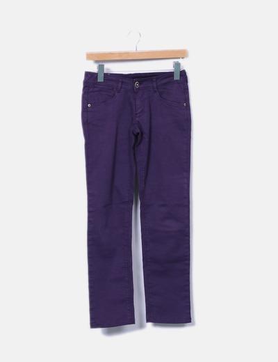 Jeans denim morados