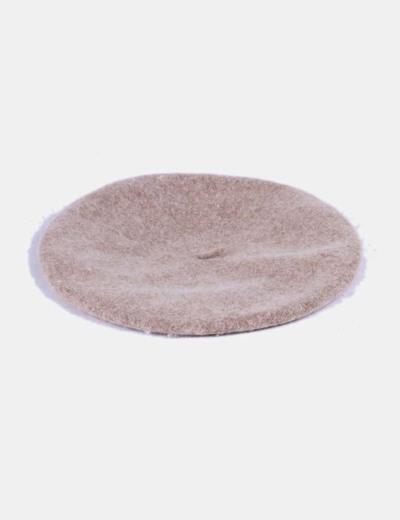 Boina de lana beige Accessorize