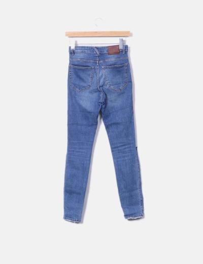 buena reputación calidad y cantidad asegurada excepcional gama de estilos Jean roto rodillas