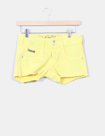 Shorts amarillo flúor  Pepe Jeans