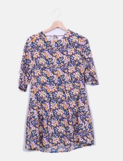 Vestido fluido floral Suiteblanco