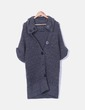 Cardigan gris à manches courtes noir Company & Co