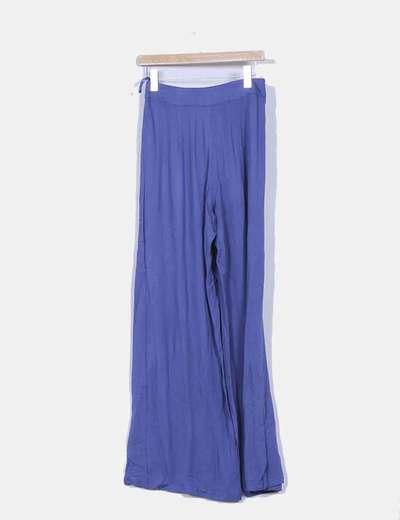 Pantalon baggy azul