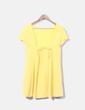 Vestido midi amarillo NoName