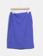 Falda midi azul NoName