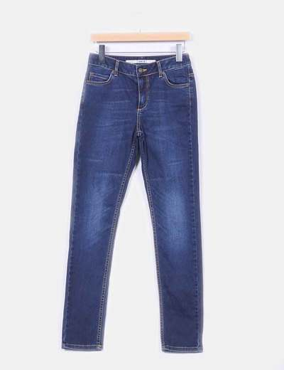 Jeans jambe droite taille haute Topshop