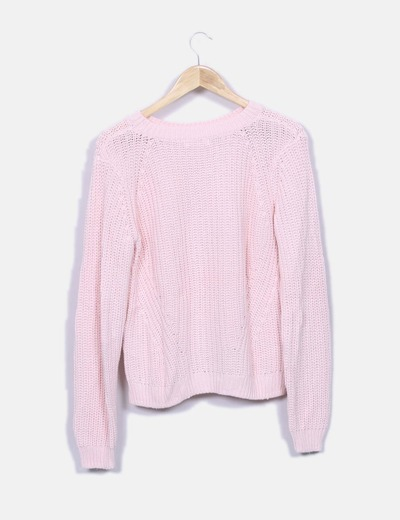 Jersey punto rosa