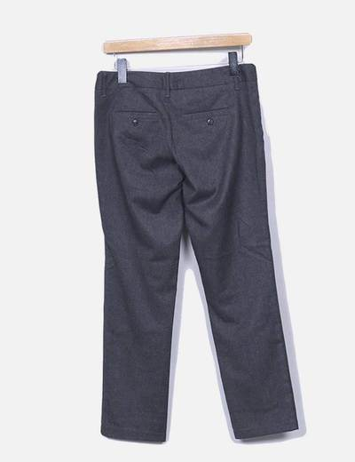 Pantalon gris marengo recto