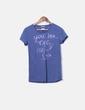 T-shirt bleu Tommy Hilfiger