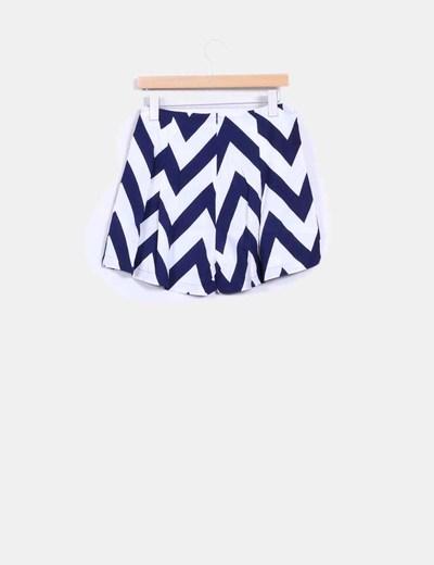Shorts estampado navy