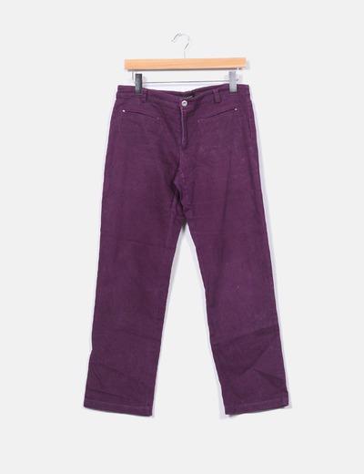 Pantalón morado Estudio Erre