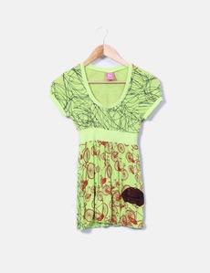 8018f8cf4 Camiseta verde con lentejuelas Culito From Spain