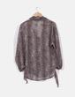 Blusa semitransparente print leopardo Suiteblanco