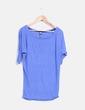 Camiseta azul klein jaspeada Stradivarius