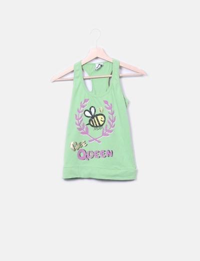 T Bee Band Da Top Donna shirt RL4Aj5