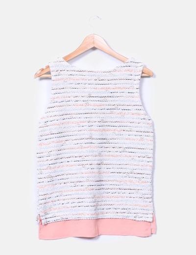 Camiseta texturizada