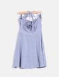 Vestido midi azul Blend