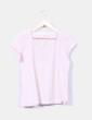 Camiseta rosa pastel  Meisïe