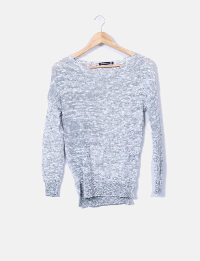 Pull multi-couleurs deux tricot Shana