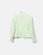 Chaqueta verde tweed Adolfo Dominguez