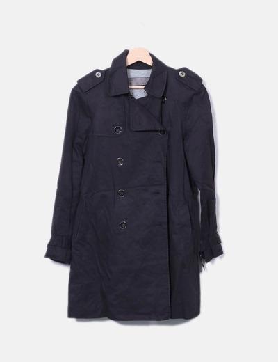 Gabardine noir Zara