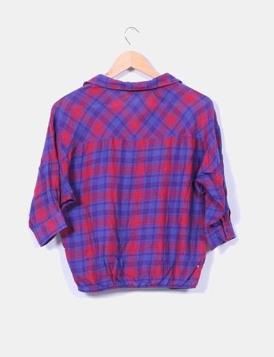Camisa bicolor de cuadros