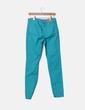 Pantalon pitillo verde agua Tex