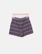 Short tricot combinado Zara