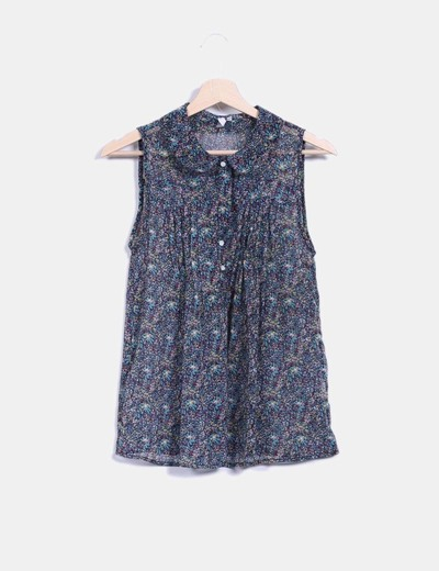 Blusa print floral multicolor Green Coast