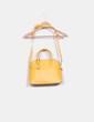 Bolso soulder amarillo Zara